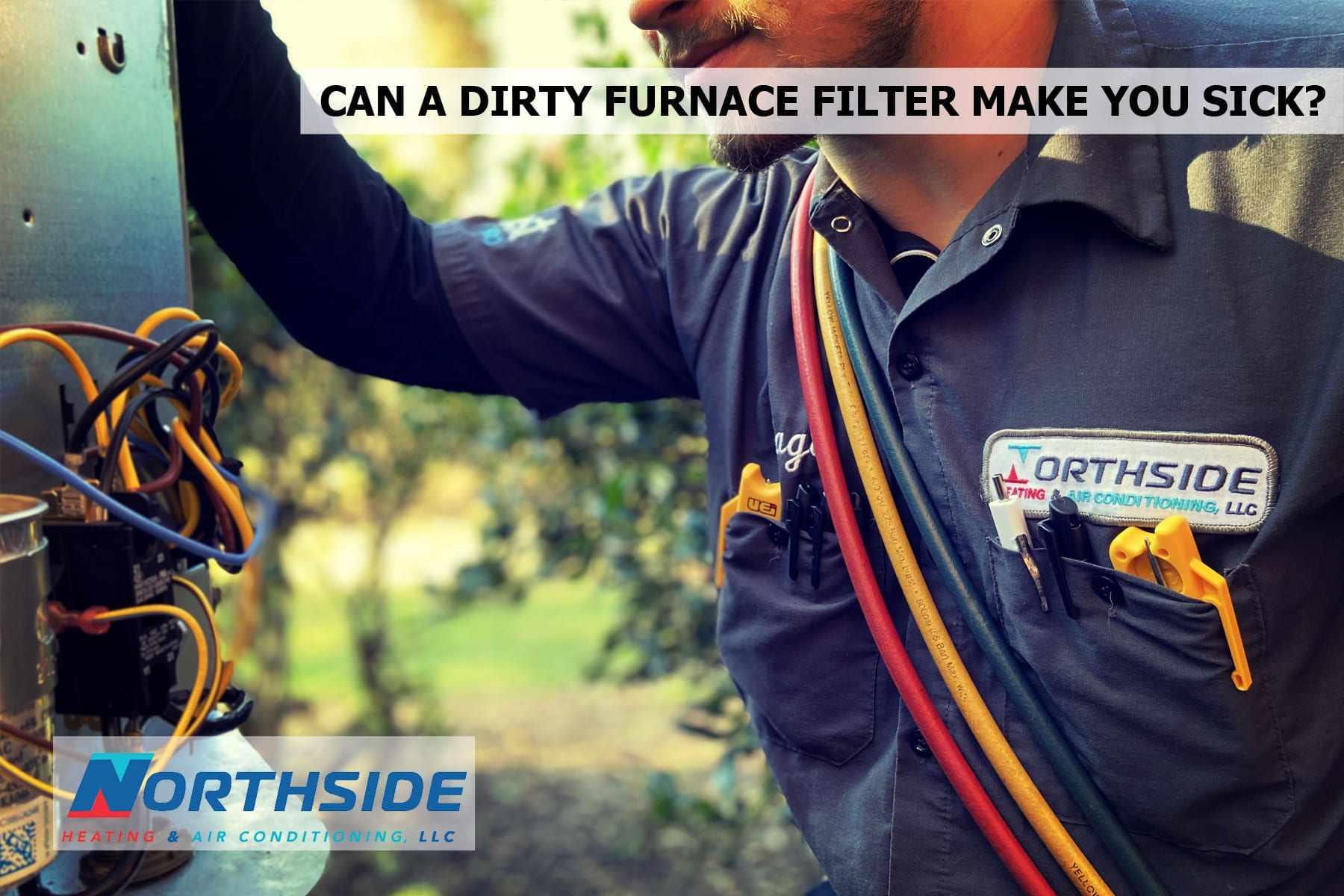 Can a dirty furnace filter make you sick?
