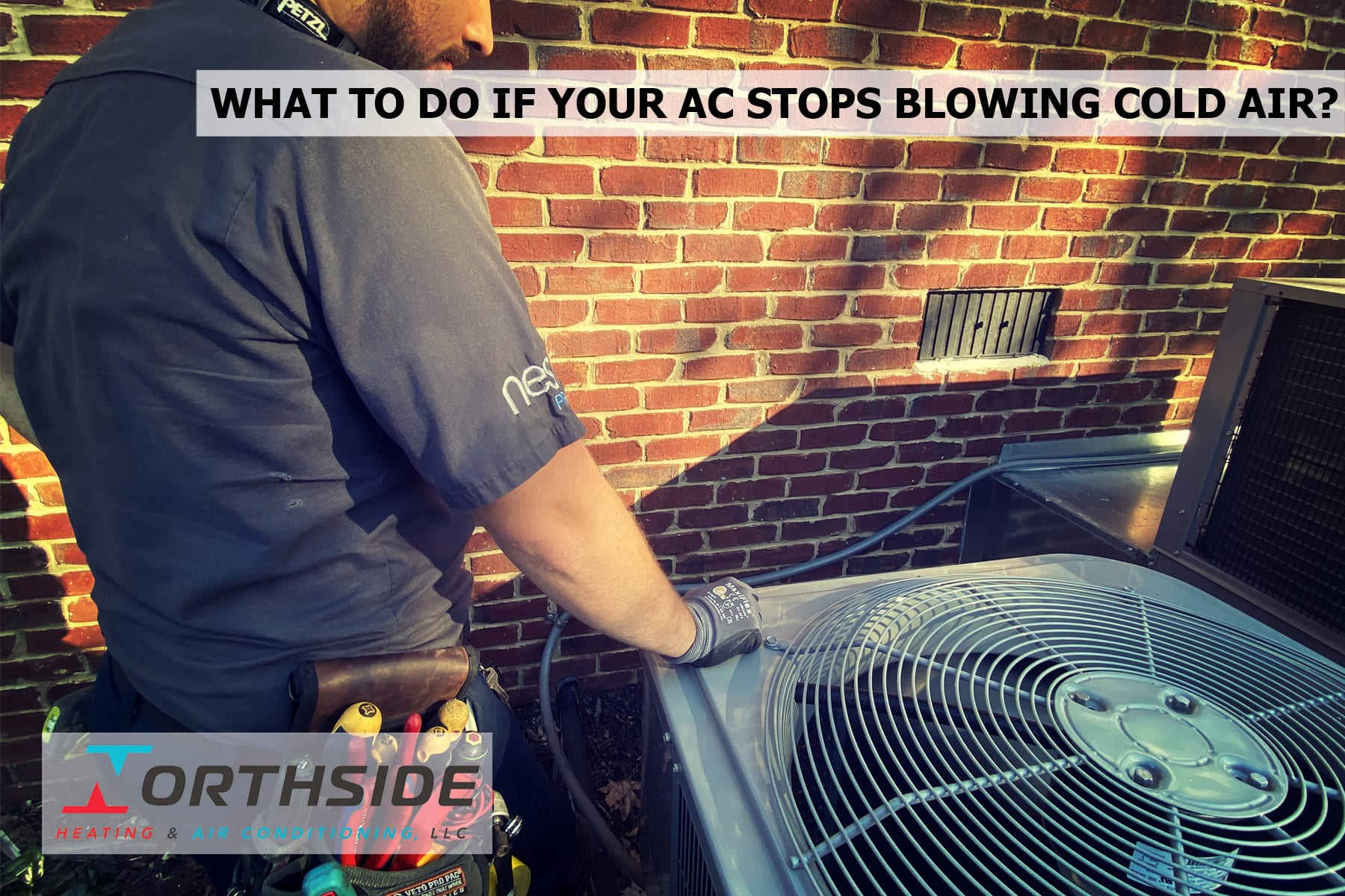 WHAT TO DO IF YOUR AC STOPS BLOWING COLD AIR?