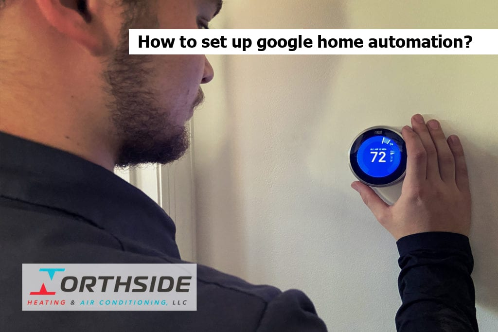 How to set up google home automation?